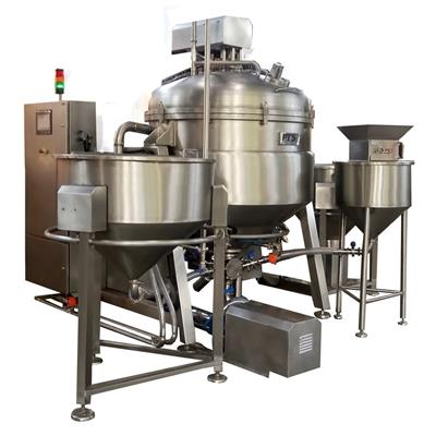 Vacuum Mixer Homogenizer (Ketchup and Mayonnaise)